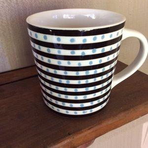 Starbucks blue dots mug 2004